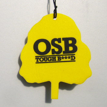 OSB car air freshener example