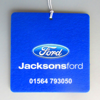 Jacksons Ford car air freshener example