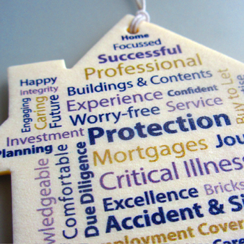 Home Insurance car air freshener example