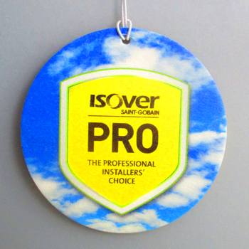 Isover car air freshener example