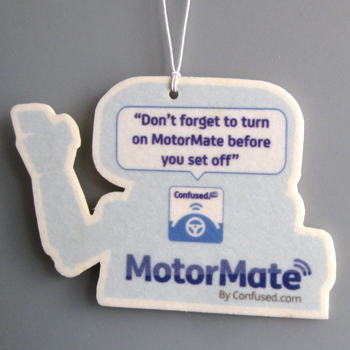 Motormate car air freshener example